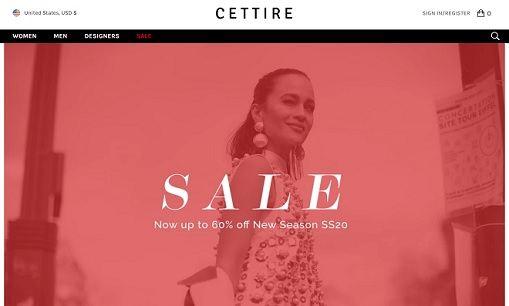 Coupon CETTIRE