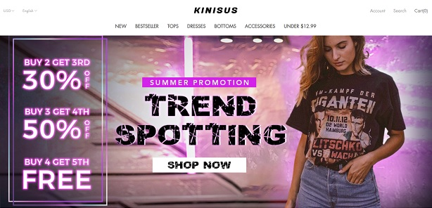 Code promotionnel KINISUS