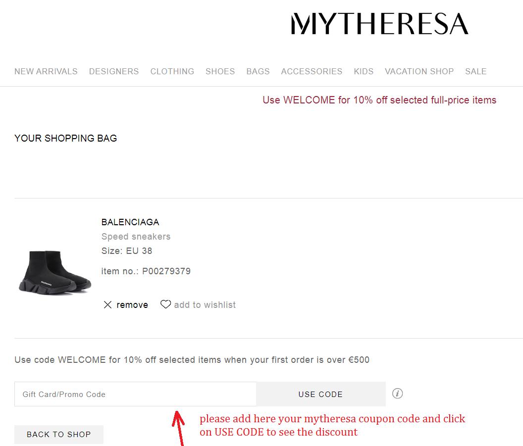 MyTheresa presentkort