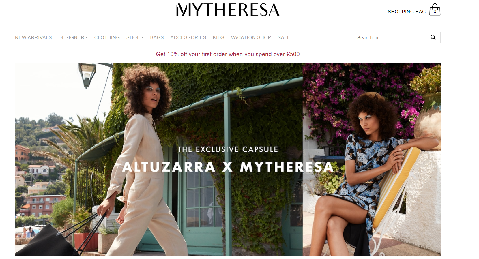 MyTheresa Luxury Fashion Store